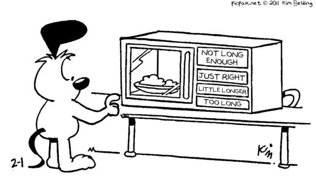 Picpak's Microwave