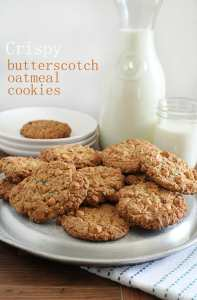 Butterscotch Oatmeal Cookies