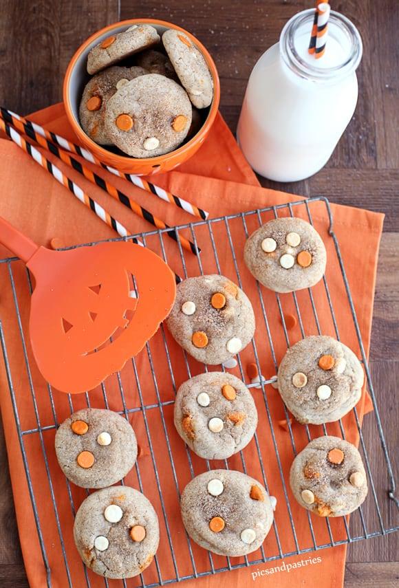 pumpkinspiceandwhitechocolatesnickerdoodlecookies