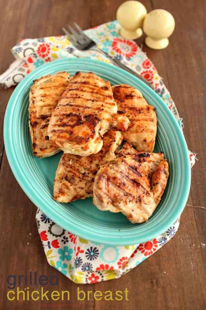 easy boneless grilled chicken breast