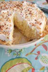 delicious coconut pie