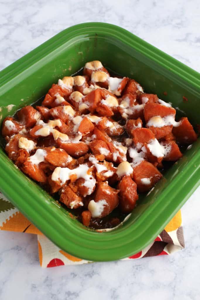 No fail sweet potatoes recipe using canned yams