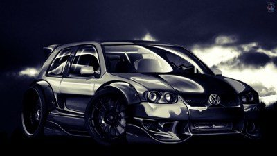 Wallpaper VW Golf