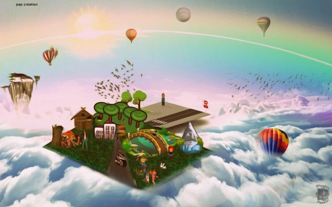 Dreamland #MadeWithPicsArt