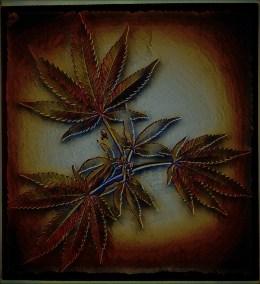 Background 'Cannabis' by XxBA666xX