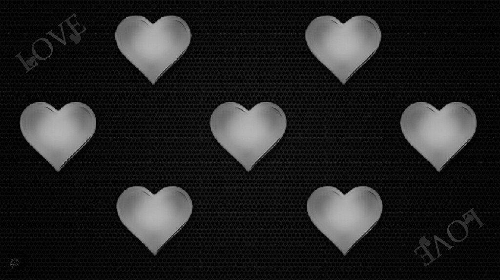 Love - Black and White - #MadeWithPicsArt