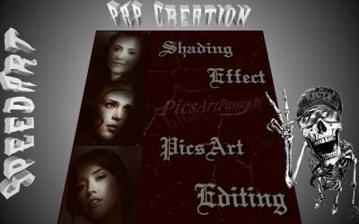 Creative Editing- Shading Effect – SpeedArt