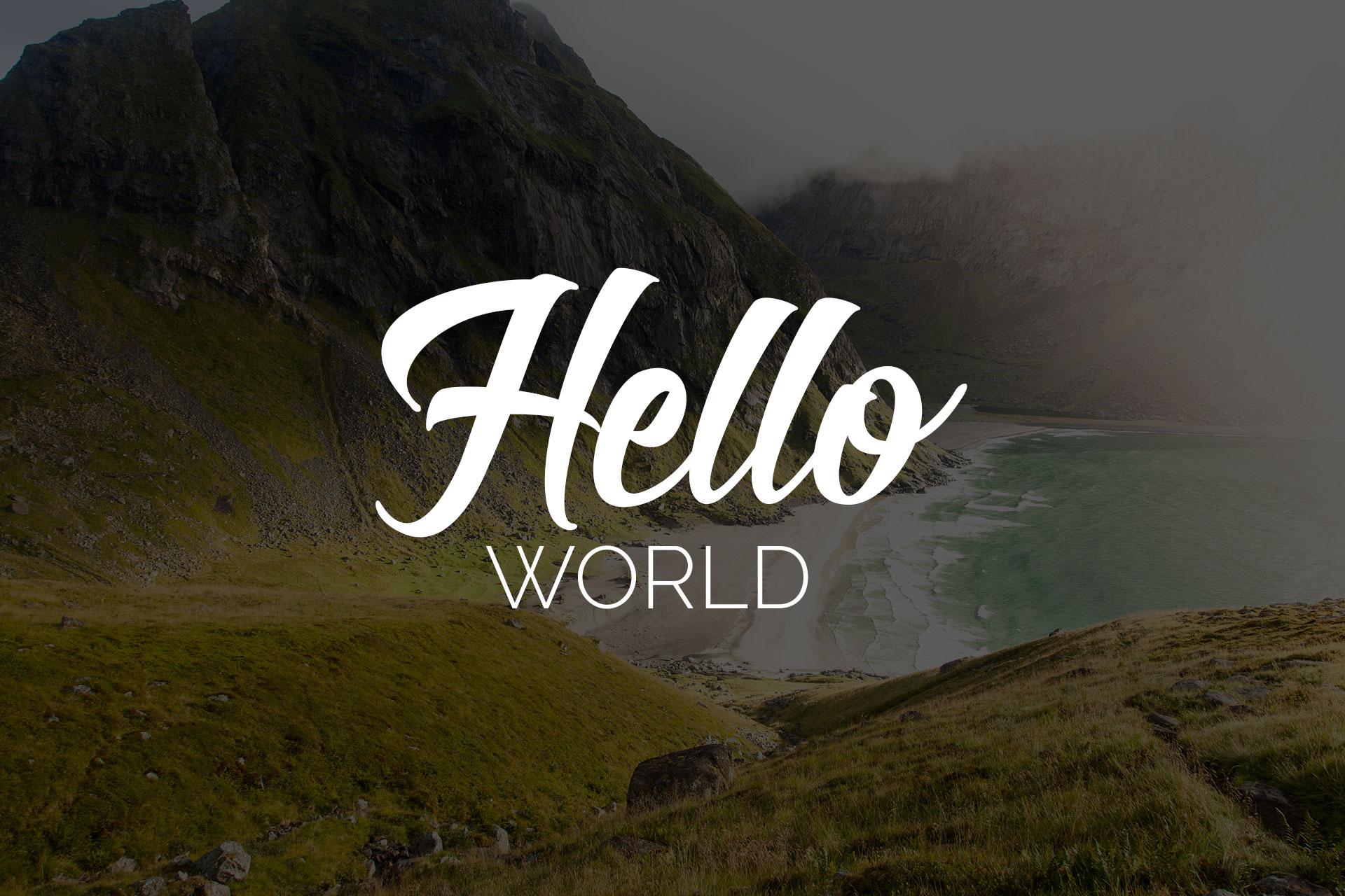 Hello World! Picseel is here!
