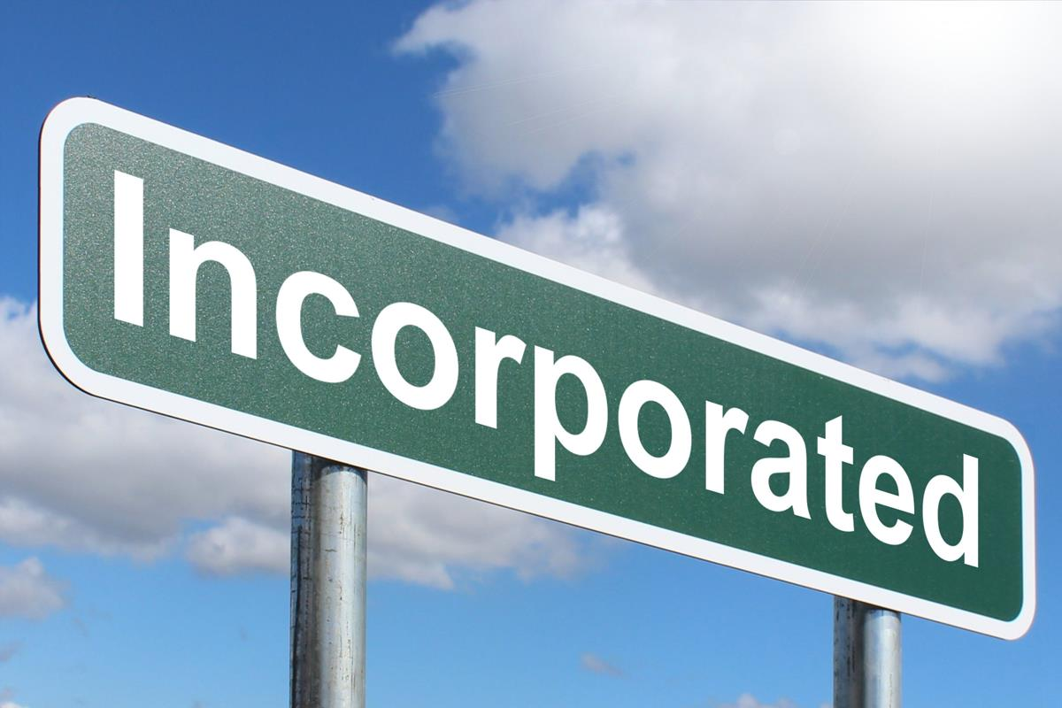 Image result for Incorporated sign