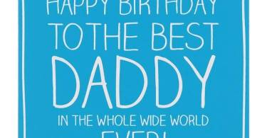 Best Daddy Happy Birthday