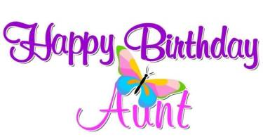 Aunt Birthday Wishes