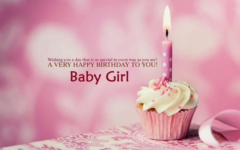 Baby Girl Birthday Wishes