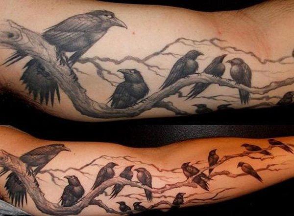 Raven Tattoos