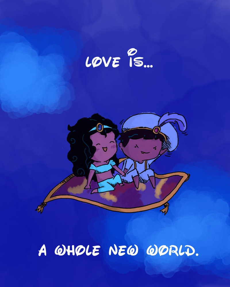 Bae Quotes The Whole New World Is Love