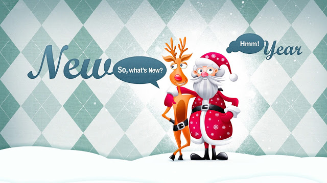 Funny New Year Wishes Wallpaper