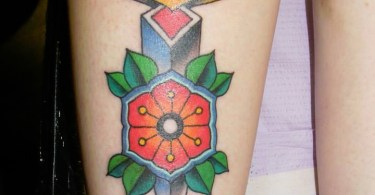 Dagger Tattoo