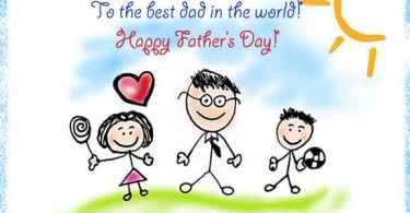 Daughter Wishes Happy Father's Day Image