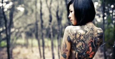 Coolest Full Body Tattoo Design For Girls
