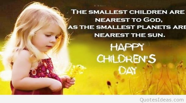 Cute Happy Childrens Day Greetings Image