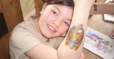 Glass Tattoo