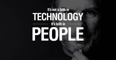 Technology Quotes It's Not A Faith In Technology It's Faith In People