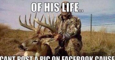 Hunting Memes Kills the biggest buck of his life