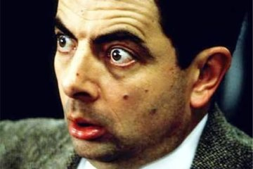 Mr Bean Meme That awkward moment when your download pauses at 99