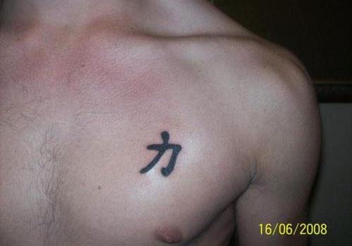 Horrible Strength Symbol Tattoos