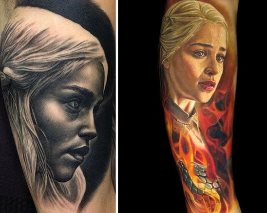 Man I can't wait till the last season of Game of Thrones tattoos Made By Nikko Hurtado