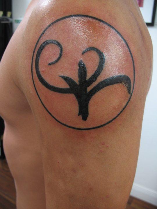 Motivational Strength Symbol Tattoos