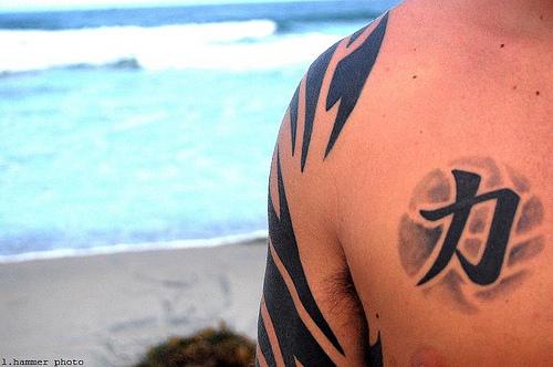 Passionate Strength Symbol Tattoos