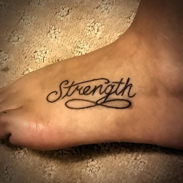 Terrific Strength Symbol Tattoos