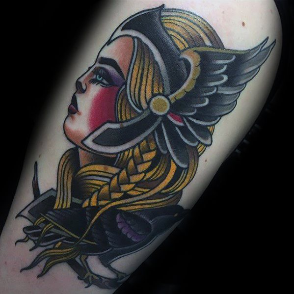 Valkyrie Tattoos Designs & Idea For Men's And Women's 0010
