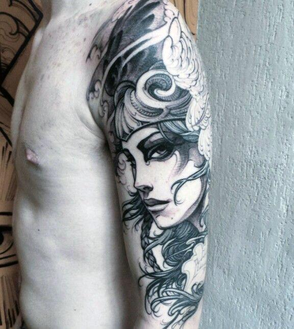 Valkyrie Tattoos Designs & Idea For Men's And Women's 0024