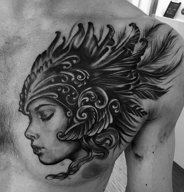 Valkyrie Tattoos Designs & Idea For Men's And Women's 0028