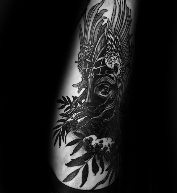 Valkyrie Tattoos Designs & Idea For Men's And Women's 0037
