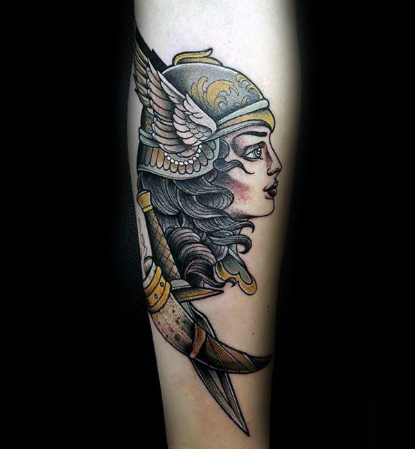Valkyrie Tattoos Designs & Idea For Men's And Women's 0040
