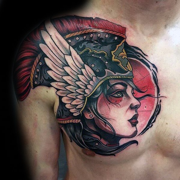 Valkyrie Tattoos Designs & Idea For Men's And Women's 0045