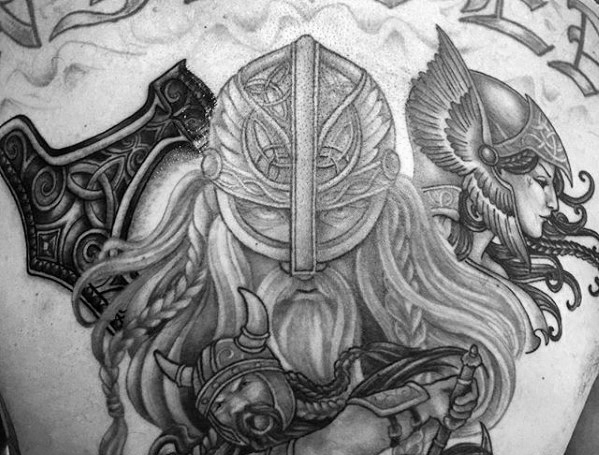 Valkyrie Tattoos Designs & Idea For Men's And Women's 0048