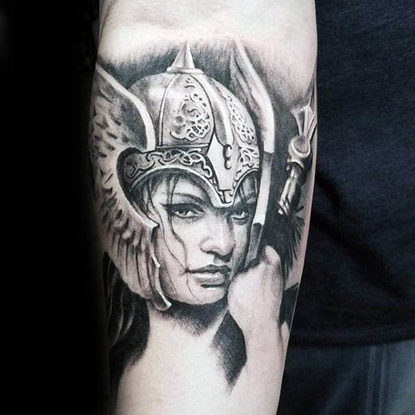 Valkyrie Tattoos Designs & Idea For Men's And Women's 0053
