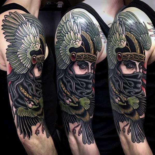 Valkyrie Tattoos Designs & Idea For Men's And Women's 0054