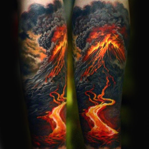 Weird Fire Tattoos