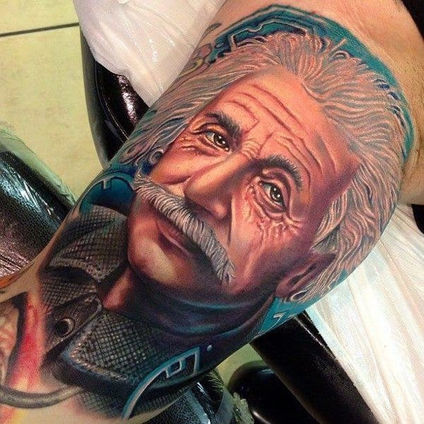 Albert Einstein Tattoos