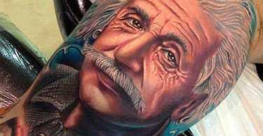 Albert Einstein Tattoos
