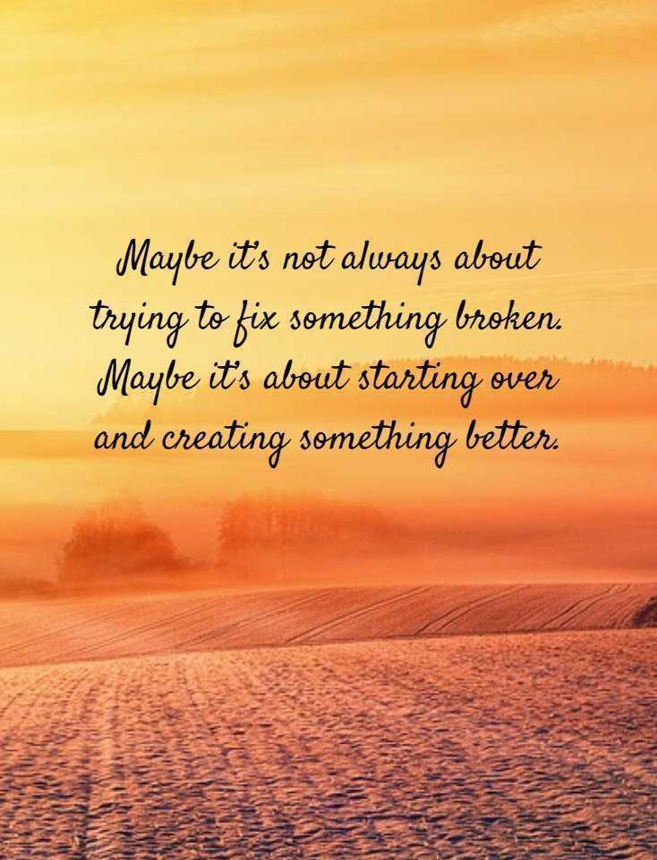Amazing Quotes maybe it's not always about trying to fix something