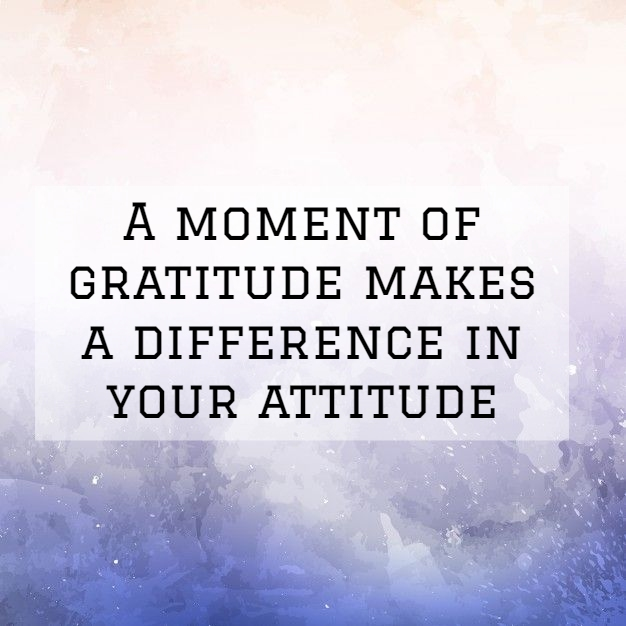 Appreciation Quotes a moment of gratitude make a difference in