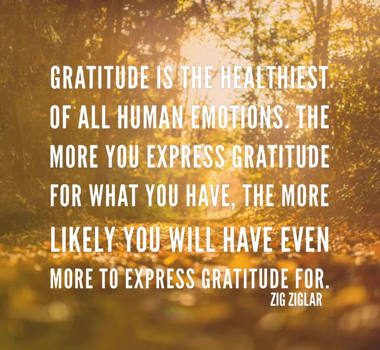 Appreciation Quotes gratitude is the healthiest of all human