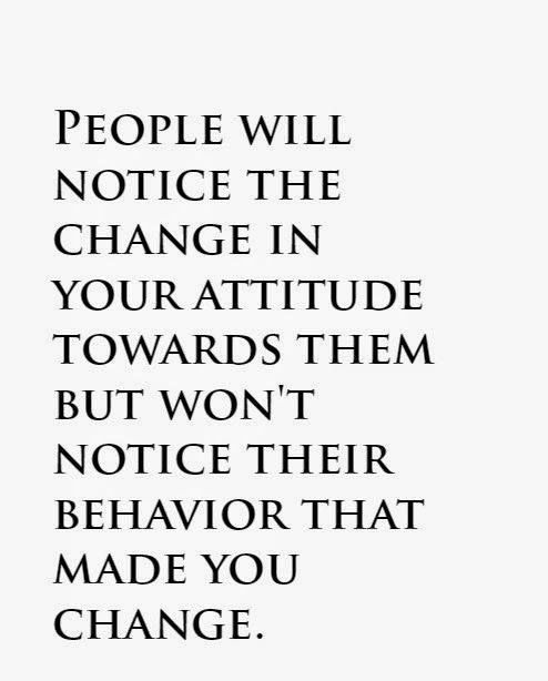 Appreciation Quotes people will notice the change in your