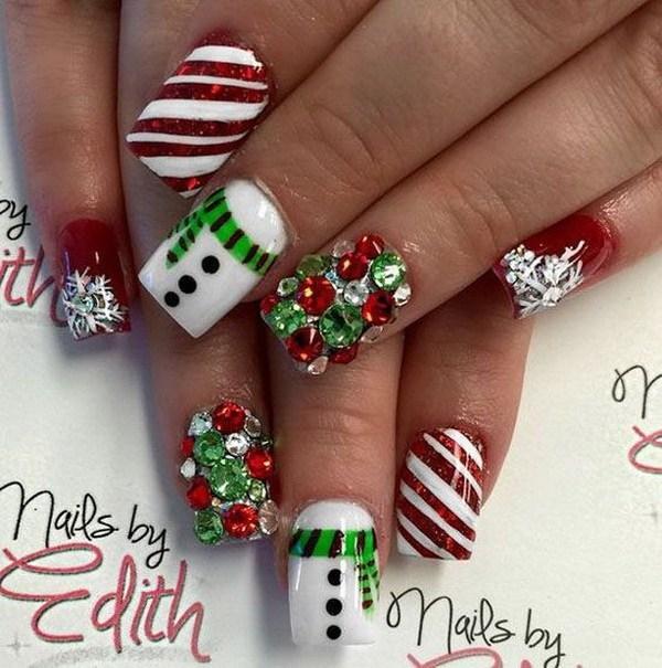 Awesome Christmas Nail Art