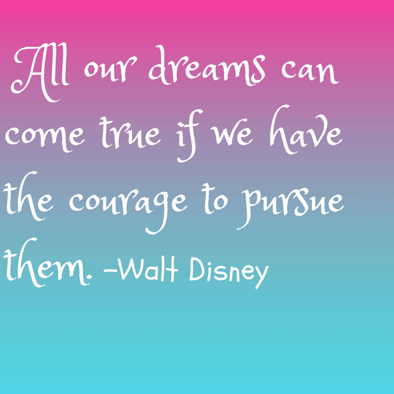 Awesome Quotes all our dreams can come true if we have